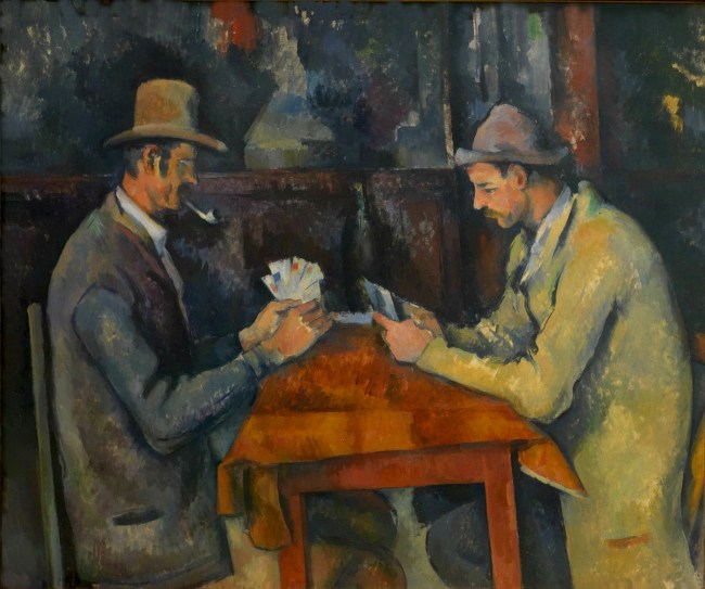 Los jugadores de cartas (1892-1895)