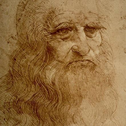 Leonardo Da Vinci, Autorretrato (1512)