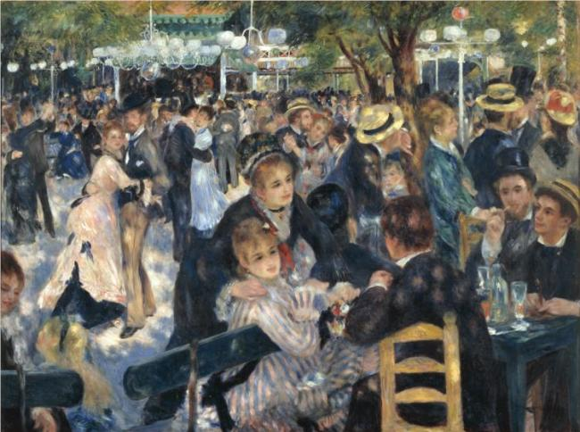 Dance at Moulin de la Galette (1876)