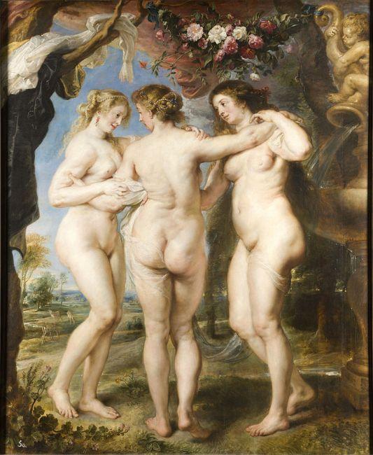 Las tres Gracias (1630-1635)