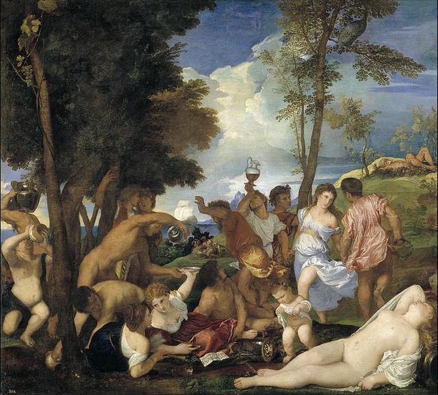 Bacanal de los andrios (1523-1526)