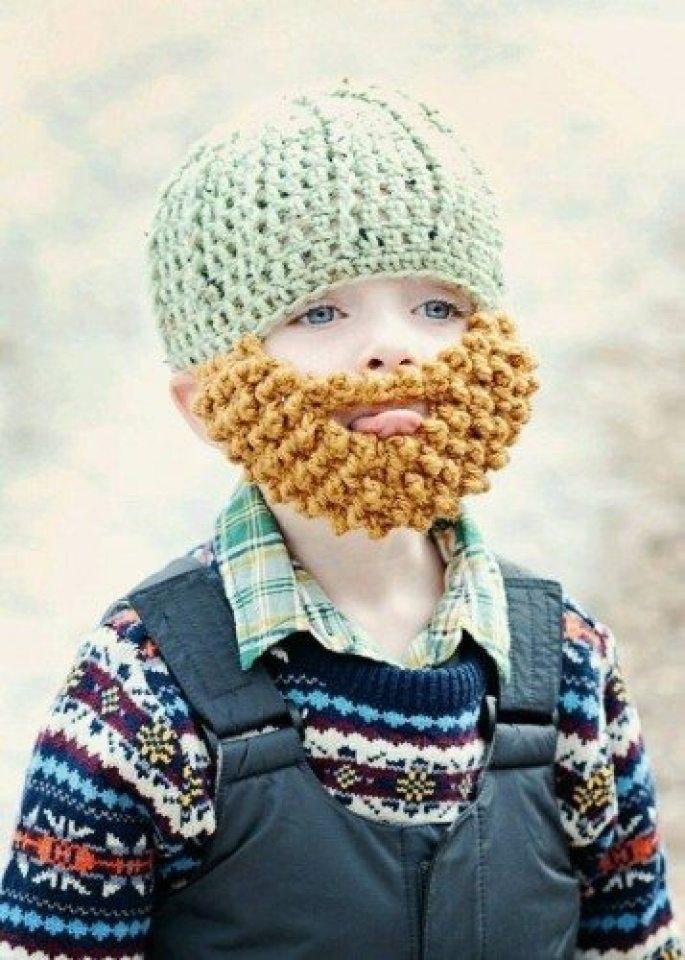 Barbitas y gorritos de crochet! • No sin mi barba