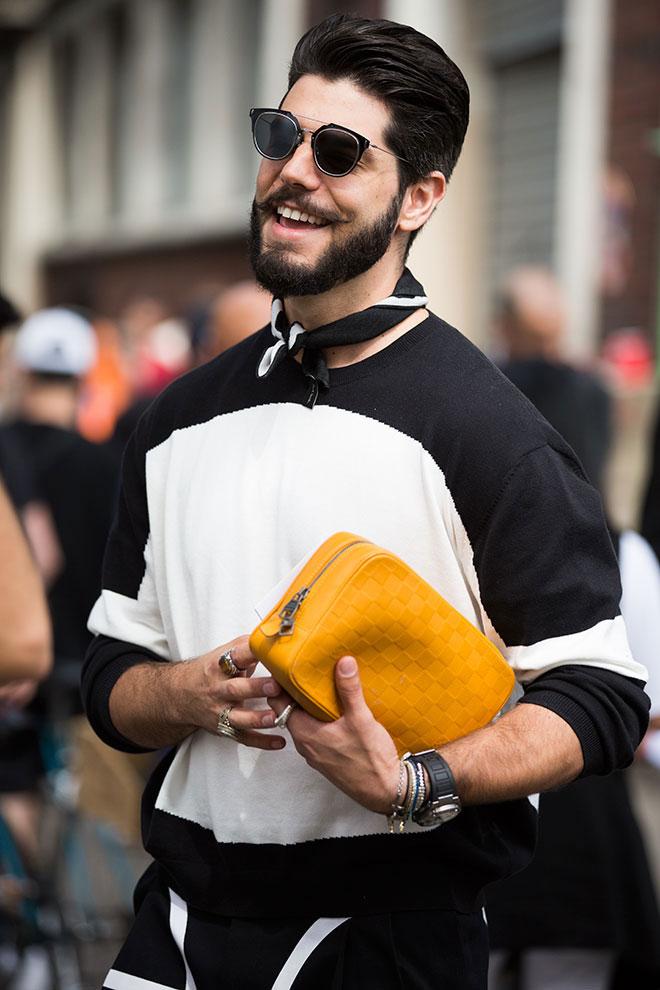 Los 12 mejores looks con barba de la Paris Fashion Week-7
