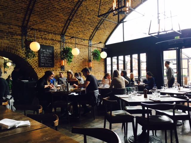 Londres - Cocina Britpop