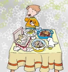 Alimentación moderna: un riesgo para la salud de los niños