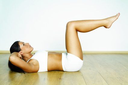 Consigue un vientre plano con Yoga