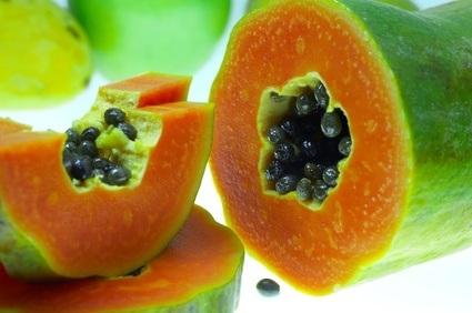 Mantén tu peso comiendo Papaya