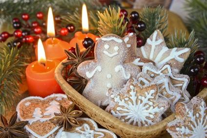 Abandonar la dieta en Navidad
