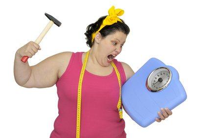 Perder peso sin apoyo