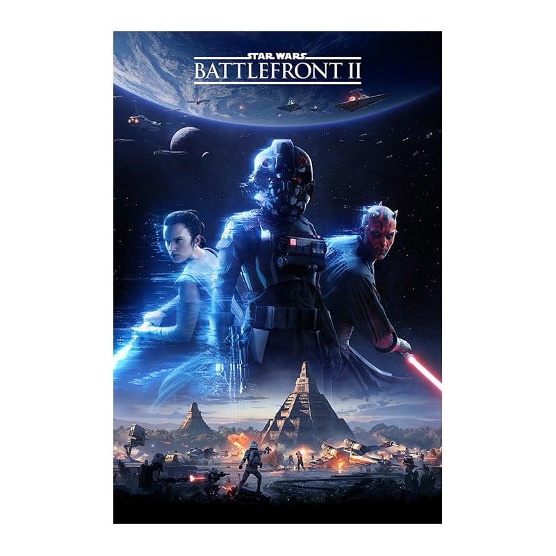 Poster Star Wars Battlefront 2 Cover  Nosoloposterscom