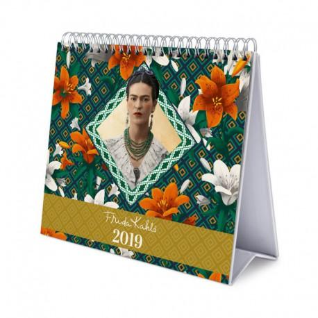 Calendario De Escritorio Deluxe 2019 Frida Kahlo  Nosoloposterscom