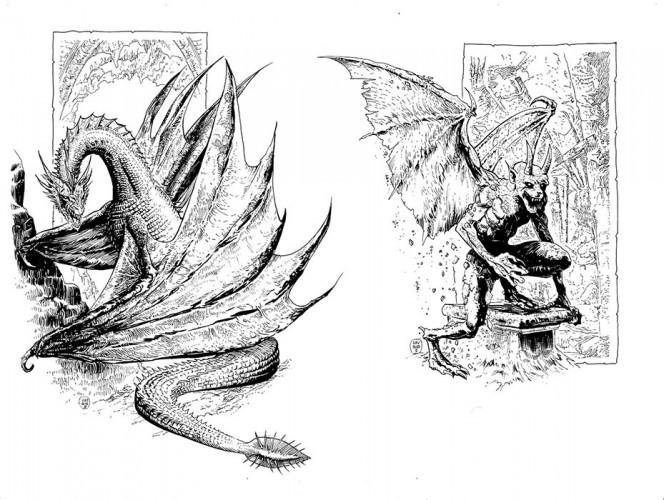 El arte de Labyrinth Lord