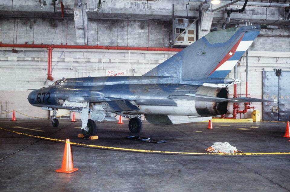 Os MiG-21 cubanos estão em condições lamentáveis e raramente voam