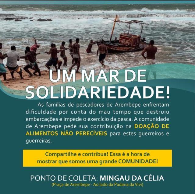 Campanha arrecada donativos para pescadores que tiveram embarcações destruídas pelo mau tempo 2