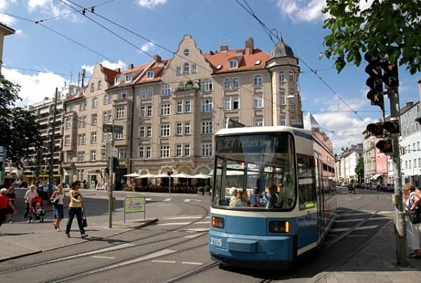 Tram, Munique