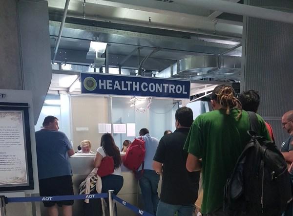 Health Control - Aeroporto Bangkok