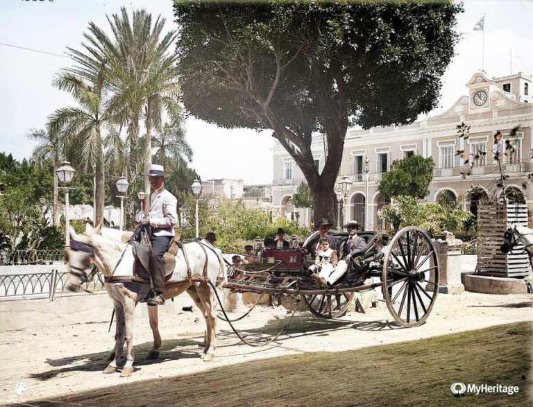 Parque de la Libertad en Matanzas. O conocido antiguamente como La Plaza de Arma