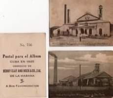 Image may contain: text that says 'No. 736 tralPortugalette-SanJose Postal para el Album CUBA EN 1925 OBSEQUIO DE HENRY CLAY AND BOCK&CO.,Ltd. DE LA HABANA A Sus FAVORECEDORES'