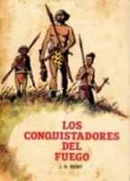 May be an image of standing and text that says 'LOS CONQUISTADORES DEL FUEGO ROSNY'