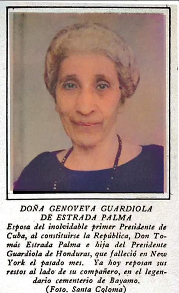 Las Primeras Damas de Cuba.