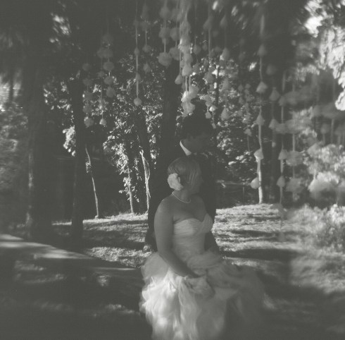 Oklahoma Wedding Holga Photography B&W