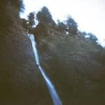Waterfall, Oregon, Holga Photography