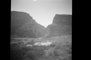 Big Bend Rio Grande B&W