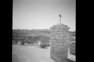 Terlingua Cemetery B&W