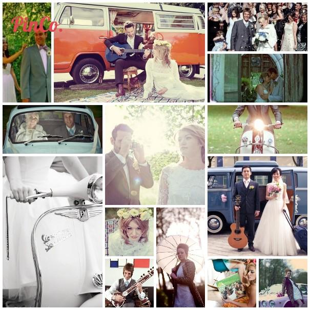 1960s wedding inspiration and wedding videos