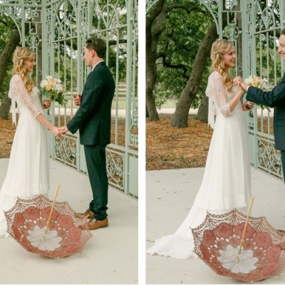 Vintage French Inspired Wedding at Ma Maison on The Lovely Find