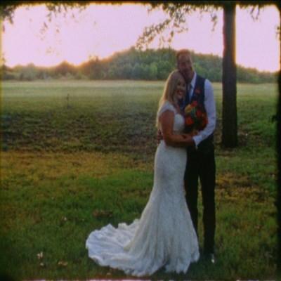 Super 8mm & HD Wedding Films at Hollow Hill Farm, Weatherford