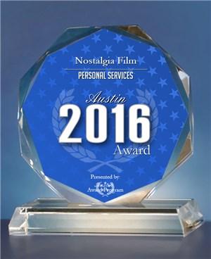 Nostalgia Film Receives 2016 Austin Award