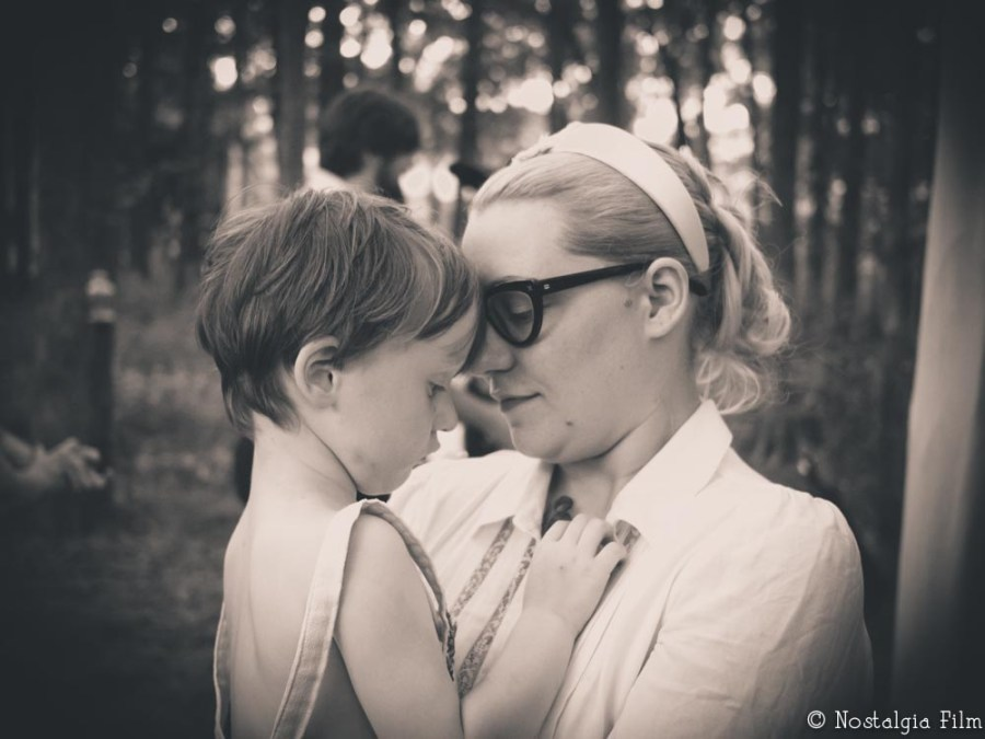 Family Wedding Photography - Mother and son portrait in Bastrop Texas
