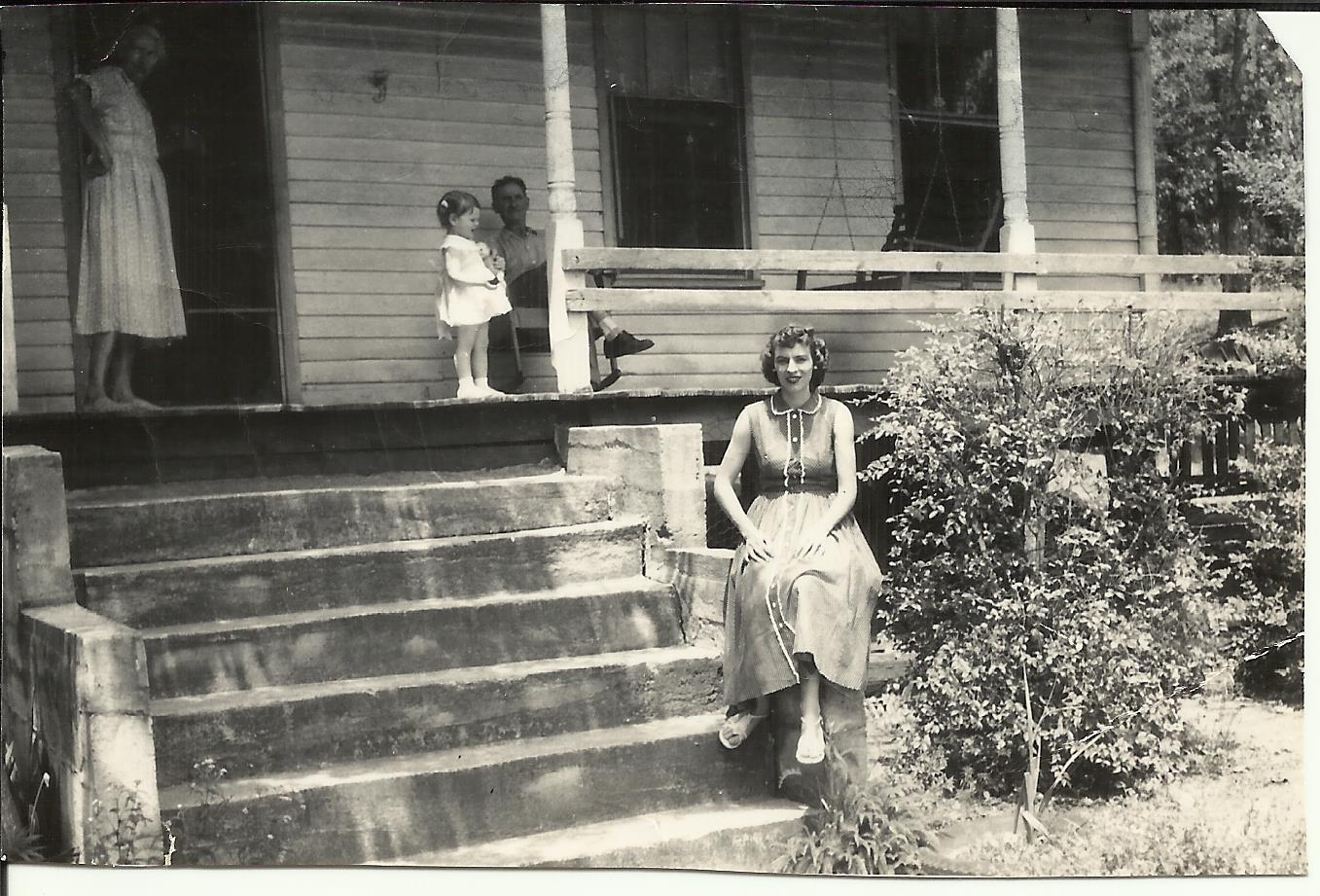 Grandmama Moorer's house