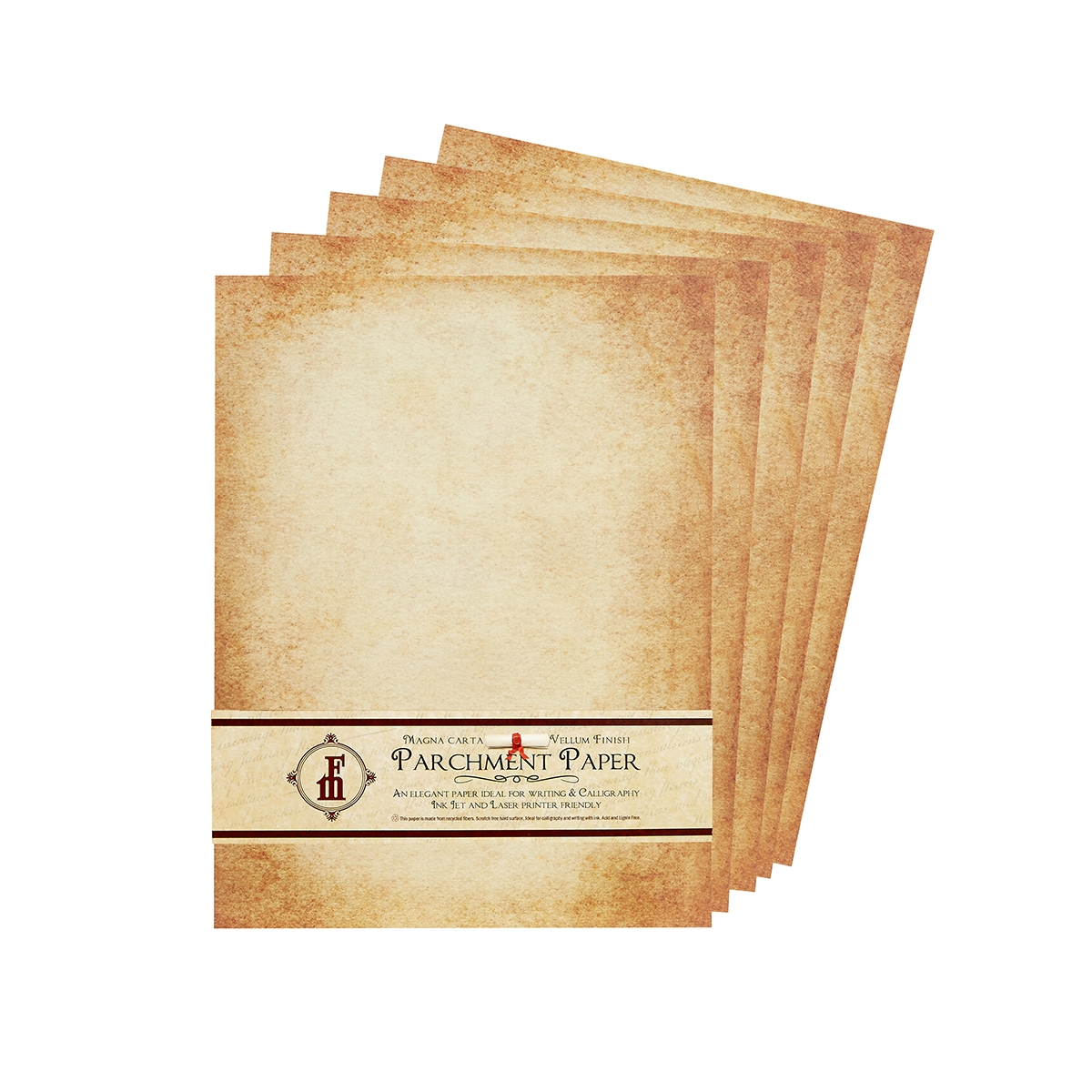 aged parchment stationery paper