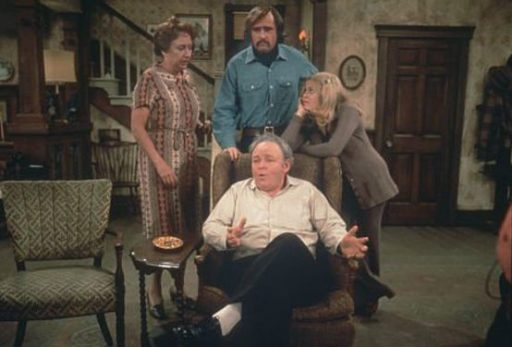 All In The Family (Edith, Mike, Gloria, and Archie Bunker)