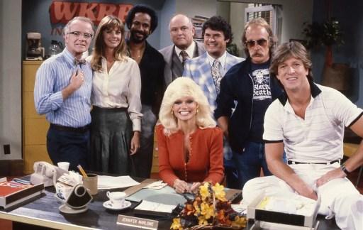 WKRP In Cincinnati tv show cast