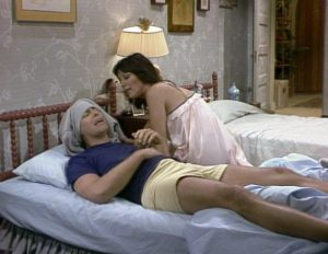 Three's Company Episode: A Night Not To Remember (Jack in Janet's bed)