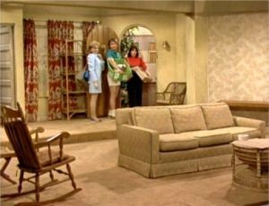 Three's Company episodes: Friends and Lovers (final farewell scene of trio in apartment)