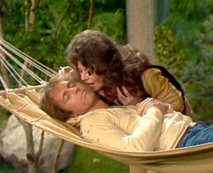 Three's Company Episode: A-Camping We Will Go (Jack in hammock)