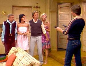 Three's Company Episode: Eyewitness Blues
