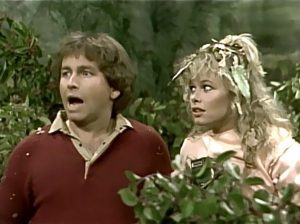 Three's Company episodes: Itching For Trouble (Jack in bushes, catching poison oak/ivy)