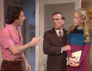 "Three's Company Episode: Teacher's Pet (Dean Travers and niece Betty ""BJ"" Jean)"