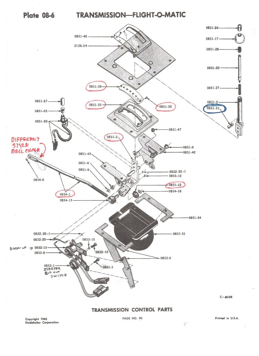 Shifter Conversion Kit