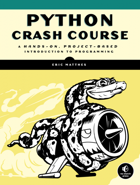 Python Crash Course  No Starch Press