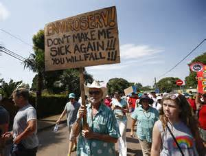 Hillcrest, what's that smell - Shongweni Dump protest march