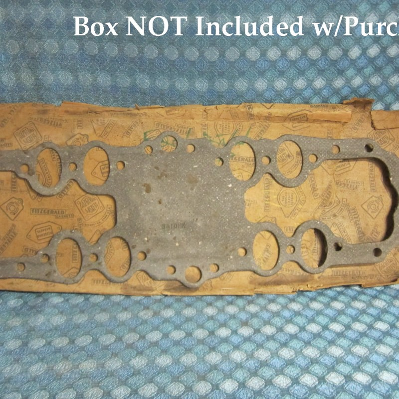 1932-47 Ford V8 85 & 95 HP NORS Intake Gasket 33 34 35 36 37 38 39 40 41 46