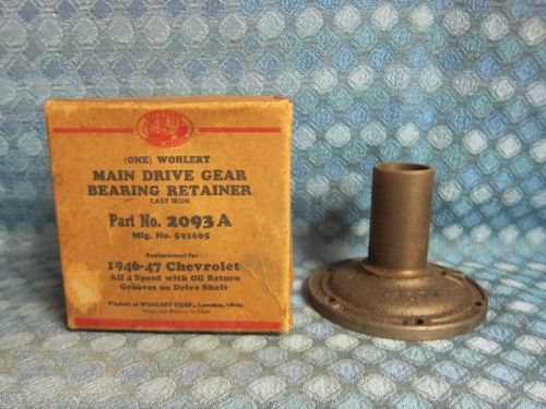 1946-47 Chevrolet Truck 4 spd. NORS Main Drive Gear Bearing Retainer