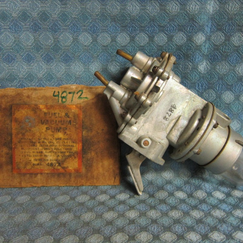 1955 56 57 Ford 59 60 61 Edsel Mercury NORS Fuel Vacuum Pump (See Detailed Ad)