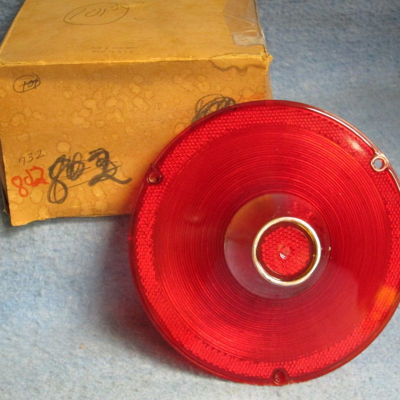 1961 Ford NORS Tail Lamp Lens Galaxie Fairlane Starliner & Wagons